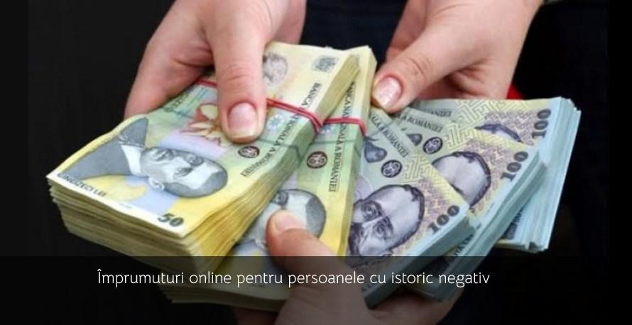 Împrumuturi online pentru persoanele cu istoric negativ